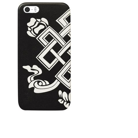 AIINO Custodia Tattoo Tibet per iPhone 5/5S - Nero