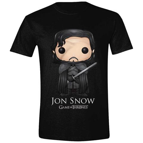 IMPORT Game Of Thrones - Pop Art Jon Snow (T-Shirt Unisex Tg. L)
