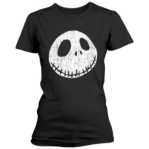 PHM Nightmare Before Christmas (The) - Cracked Face (T-Shirt Donna Tg. L)