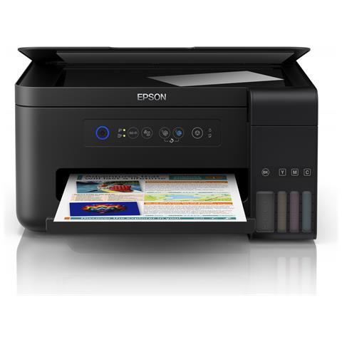 Stampante Multifunzione EcoTank ET-2700 Inkjet a Colori Stampa Copia Scansione 33 ppm (B /...