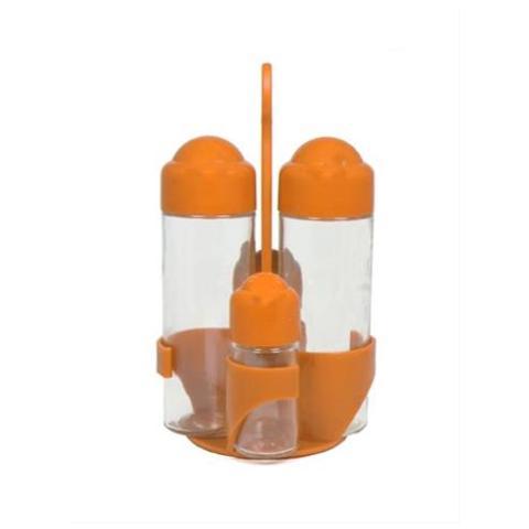 Oliera 4 Pezzi Colore Arancione