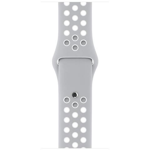 APPLE 3C651ZM / A Band Argento, Bianco accessorio per smartwatch