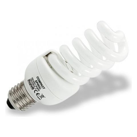 Beghelli 12 Lampadine Compact Spiral Fluorescente Luce Calda E27 20w Cod. 50302