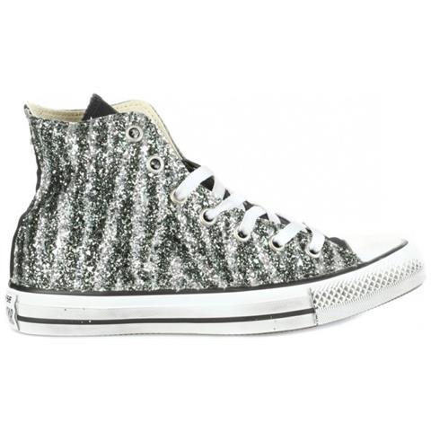 All Star - Scarpe Donna Hi Glitter Zebra 36 2b5f6e3d86e