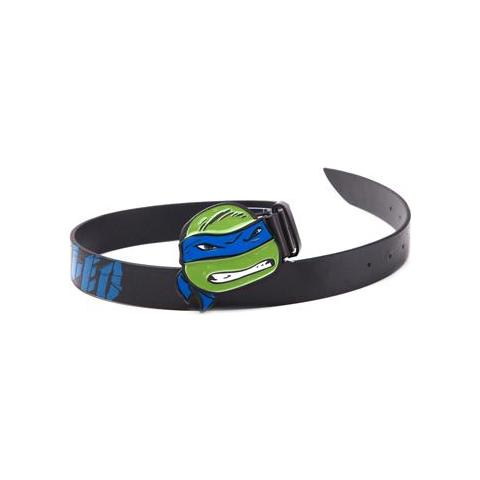 BIOWORLD Teenage Mutant Ninja Turtles - Leo Blue Buckle With Black Belt (Cintura Tg. M)