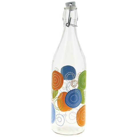 Bottiglia in vetro capacità 1 litro