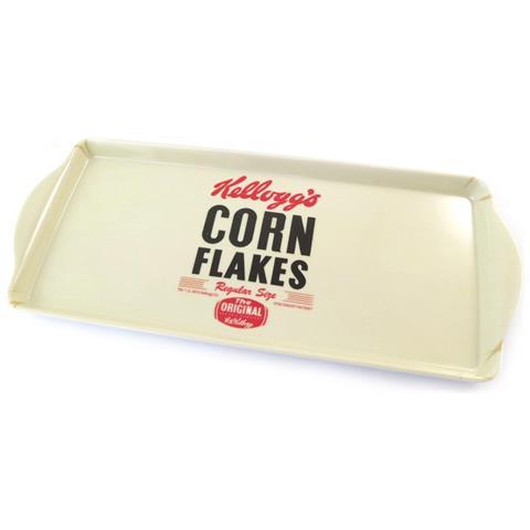 Kellogg's torta del tè '' beige (cornflakes) - 38x165x2 cm - [ n2127]