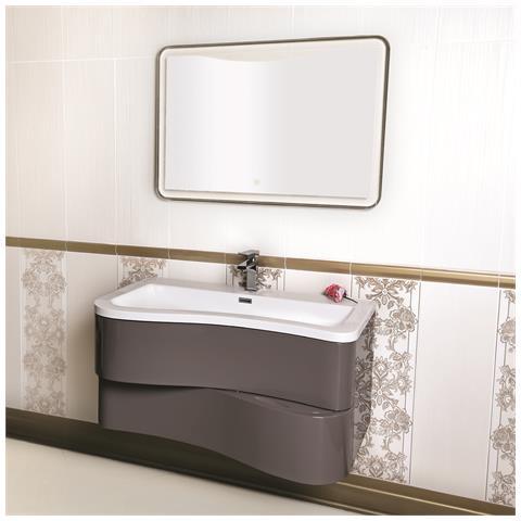 MARINELLIGROUP - - Mobile Bagno Sospeso Moderno 90 Cm Con Lavabo ...