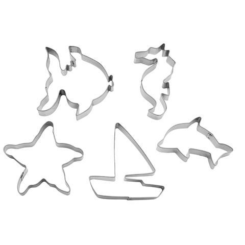 5 tagliabiscotti tema marino