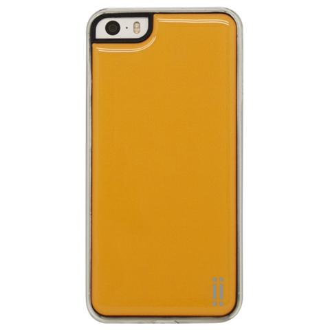 AIINO Gel Sticker Case per iPhone5/5S e iPhone SE - Orange