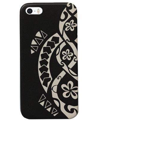 AIINO Custodia Tatto Turtle per iPhone 5/5S - Nero