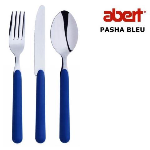 ABERT Cucch. caffe'pz. 2 pack bleu pasha