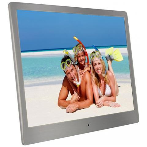 Cornice digitale Display 10'' Memoria interna 4 GB Lettore SD / SDHC / MMC / Memory stick...