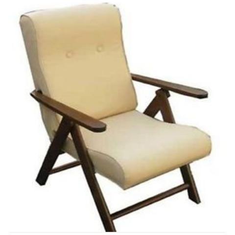 maslegno Poltrona Relax Molisana Ecopelle sdraio imbottita reclinabile e regolabile 4 posizioni