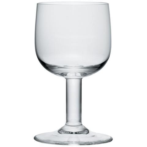 Bicchiere Vino in Vetro