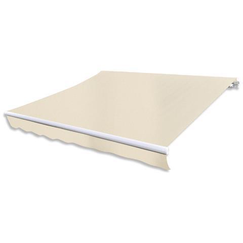 Tenda Da Sole Pieghevole 300 X 250 Cm Crema