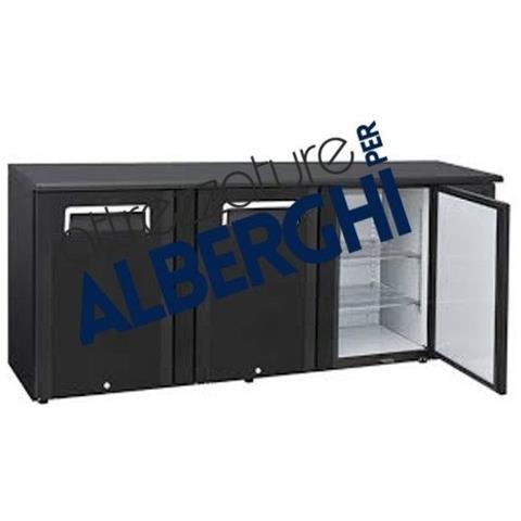 Espositore cella refrigerata orizzontale - Capacità Lt. 500- Refrigerazione ventilata
