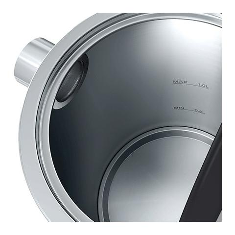 Bollitore Elettrico in Metallo Capacità 1 L