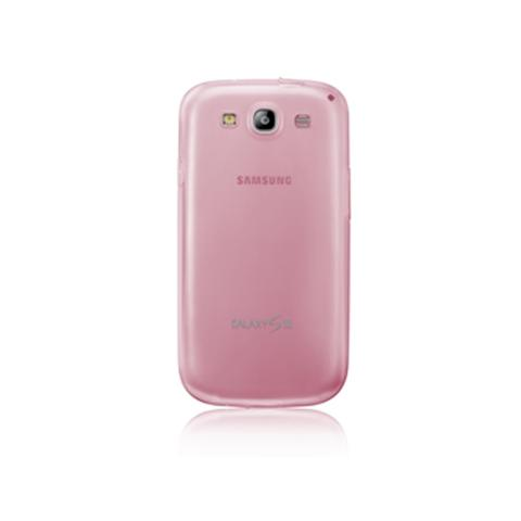 SAMSUNG Cover TPU Originale per Galaxy S3 - Rosa