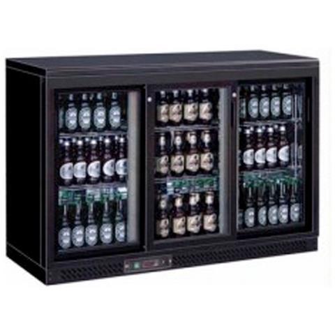 Espositore Bibite refrigerato orizzontale - Capacità Lt. 335 - Refrigerazione ventilata