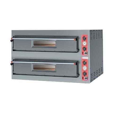 Forno Pizza Pizzeria Elettrico 6+6 Pizze Rs3648
