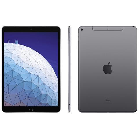 iPad Air Grigio Spaziale Display 10.5'' Full HD+ Hexa Core Memoria 256GB Wi-Fi +4G Lte Fot...