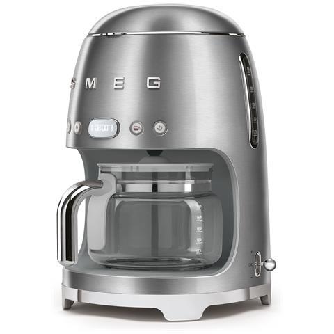 Macchina Caffè Americano DCF02SSEU 10 Tazze Linea Anni '50 Potenza 1050 Watt Colore Acciaio Spazzolato