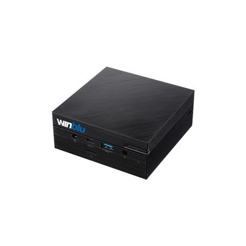 Mini Pc Easy L5 0259W10 Intel Core i5-10210U Quad Core 1.6 GHz Ram 8 GB SSD 500 GB 1xUSB 3...