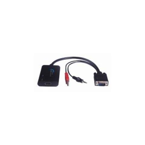 Microconnect Convertitore Cavo HDMI a VGA Nero 0.3 m HDMIMONGG