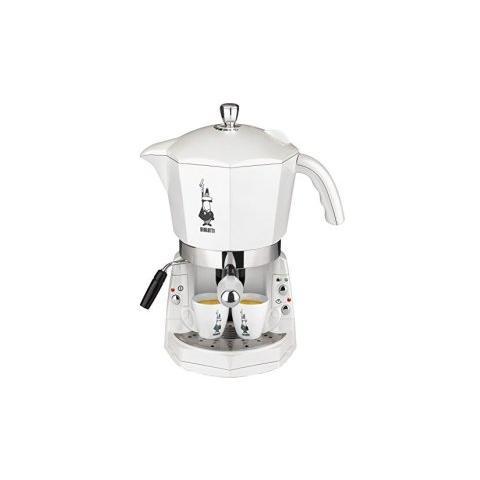 CF40 Mokona Macchina Caffè Espresso Manuale Capacità Serbatoio 1,5 Potenza 1050 Watt Colore Bianco