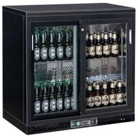 Espositore Bibite refrigerato orizzontale - Capacità Lt. 223 - Refrigerazione ventilata