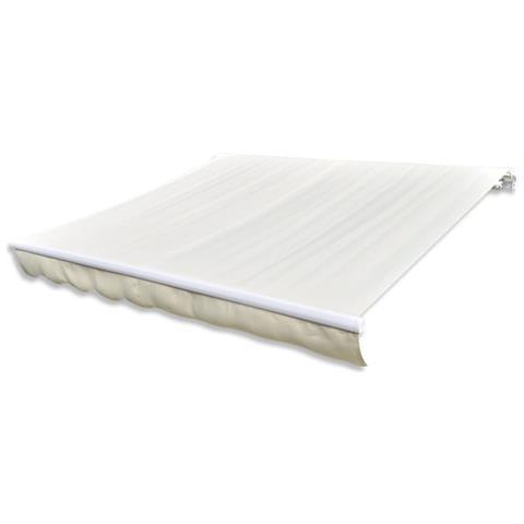 Tendone Parasole In Tela Crema 450x300 Cm