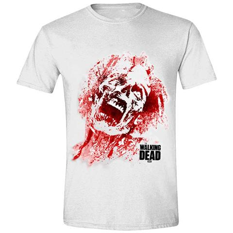 IMPORT Walking Dead - Zombie Blood Face (T-Shirt Unisex Tg. 2XL)