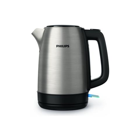 Bollitore Cordless HD9350 Capacità 1.7 Litri Potenza 2200 Watt Colore Acciaio Inox