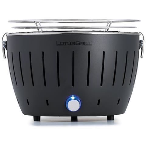 Barbecue Nuovo Modello 2019 Mini Ø 25,8 cm Nero con Batterie e Cavo di Alimentazione USB