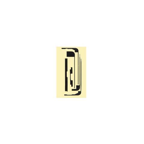 MicroSpareparts Mobile Adesivi per Pannello touch di Ricambio Cellullare Trasparente MSPP4003