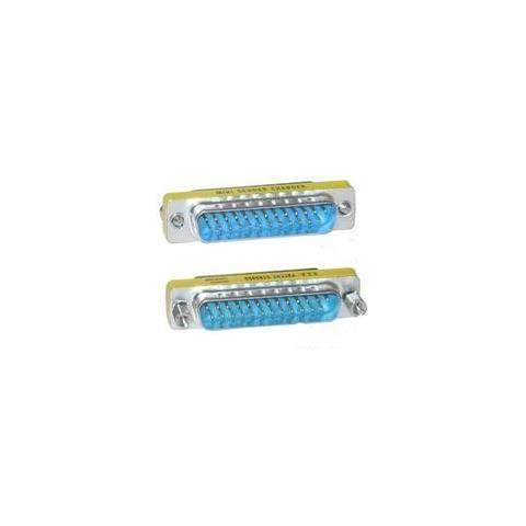 Microconnect MOD2525 DB25 DB25 Blu, Acciaio inossidabile cavo di interfaccia e adattatore