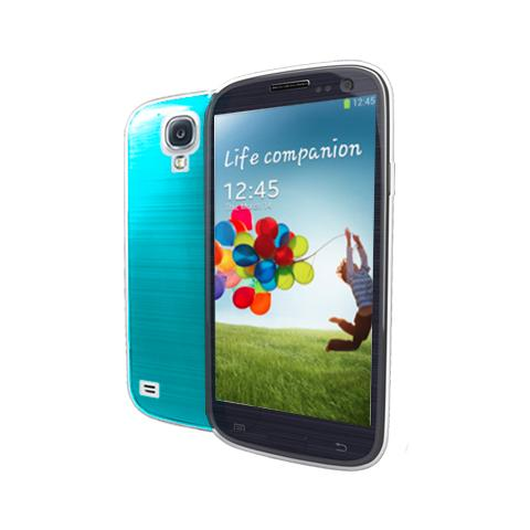 MUVIT cover fluo galaxy s4 cyan