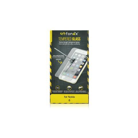 FONEX Protezione Schermo in Vetro Temperato per Nokia 6 (1Pz)