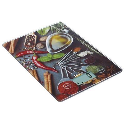 Bilancia Da Cucina Elettronica Digitale 5kg - 1gr Funzione Touch Peperoncino