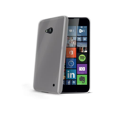 CELLY Cover Lumia 640 TPU Nero