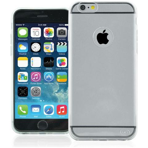 FONEX Inv Cover Ultra Sottile 0,2 mm in Morbido TPU per iPhone 6/6S Colore Trasparente