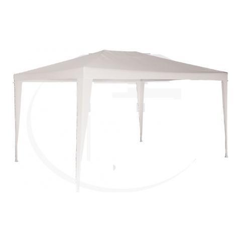 Gazebo Tubolare Con Telo Bianco Cm300x300