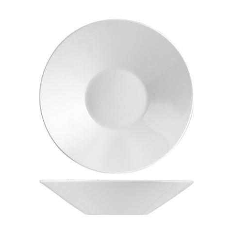 H&H Piatto Porcellana Finland Fondo Cm21 Tableware