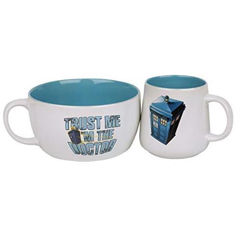 GB EYE Terminal Doctor Who - Tardis (set Colazione) Merchandising Ufficiale