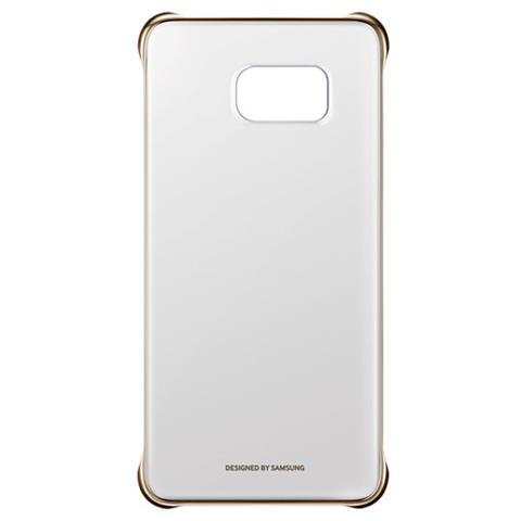 SAMSUNG Clear Cover Oro S6 Edge +