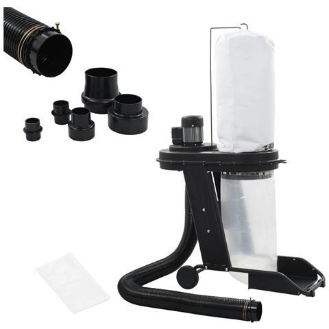 Image of Aspiratore per Trucioli con Adattatore Set Nero 550 W