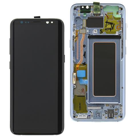 Image of Ricambio Schermo Display Originale Lcd Touch Blu Per Samsung Galaxy S8 Sm-g950
