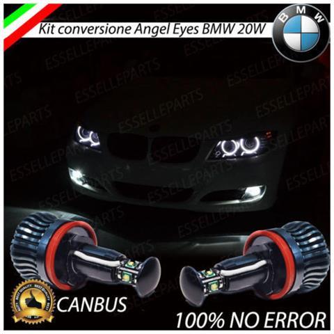 Lampade Led H8 Luci Posizione Bmw Serie 3 E90 E91 E92 Angel Eyes Anelli Canbus