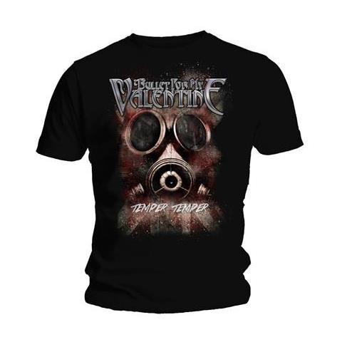 ROCK OFF Bullet For My Valentine - Temper Temper Gas Mask (T-Shirt Unisex Tg. M)